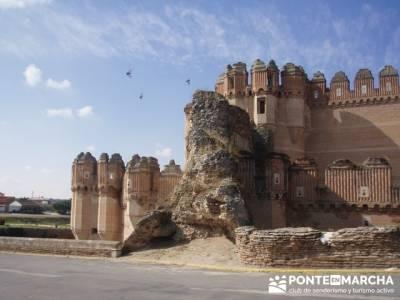 Coca - Ruta de castillos - Castillos Valladolid - Castillos Segovia - Castillo Coca; pueblos de la s